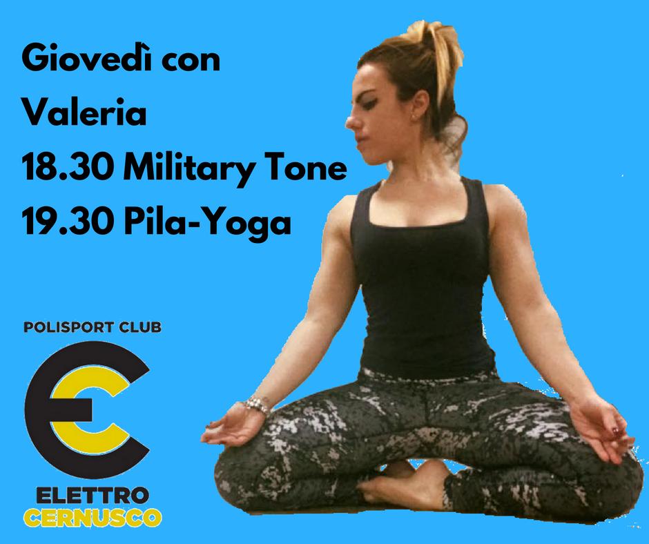 Pila Yoga Elettro Cernusco 2018 2019