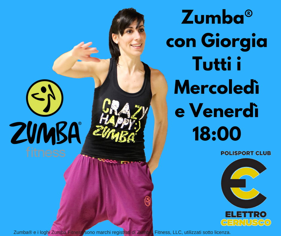 Zumba Elettro Cernusco 2018-2019