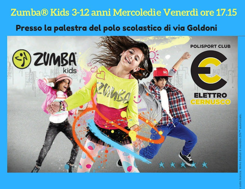 Elettro Cernusco Zumba Kids 17.15